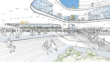 Union Station Master Plan Rendering