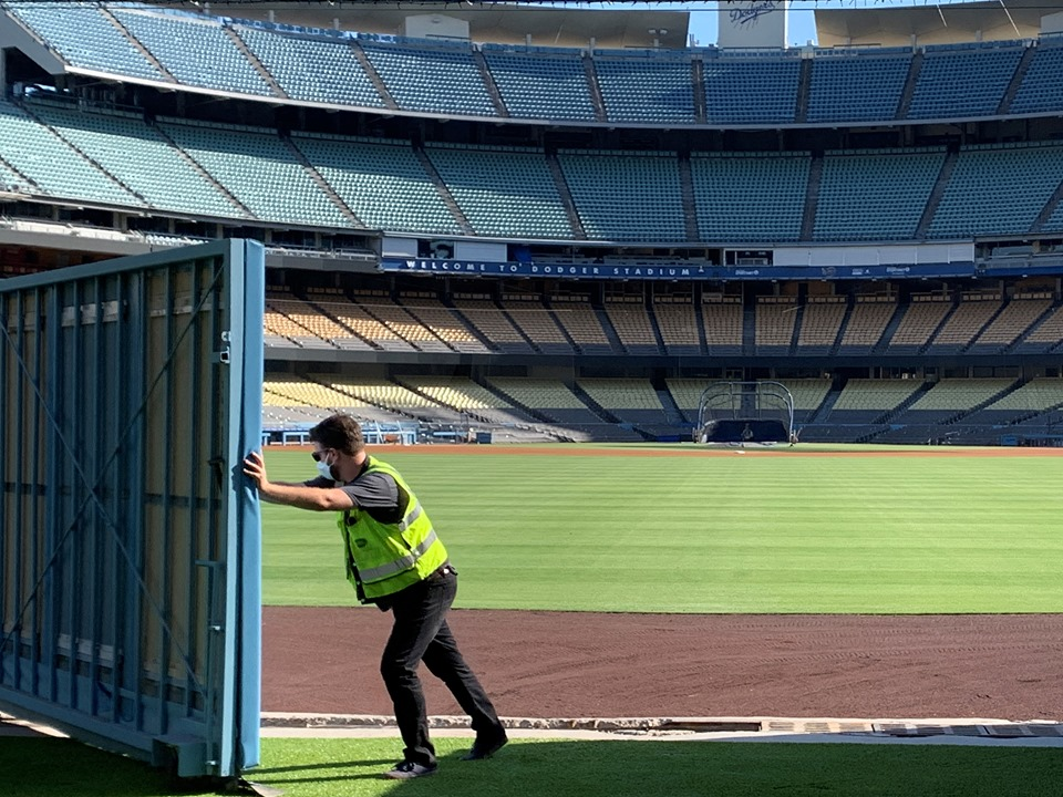 Dodger Stadium Centerfield Gate