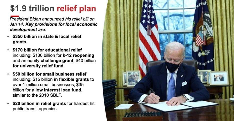 Katz Slide 3: American Rescue Plan Overview