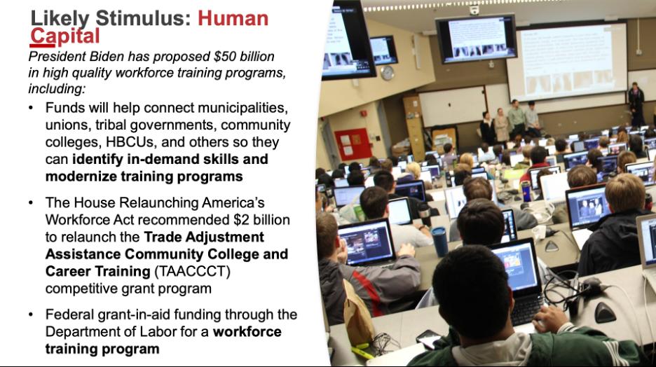 Katz Slide 4: Likely Stimulus- Human Capital
