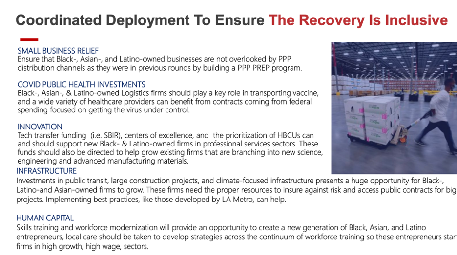 Katz Slide 4: Coordinated Deployment to Ensure Equitable Recovery