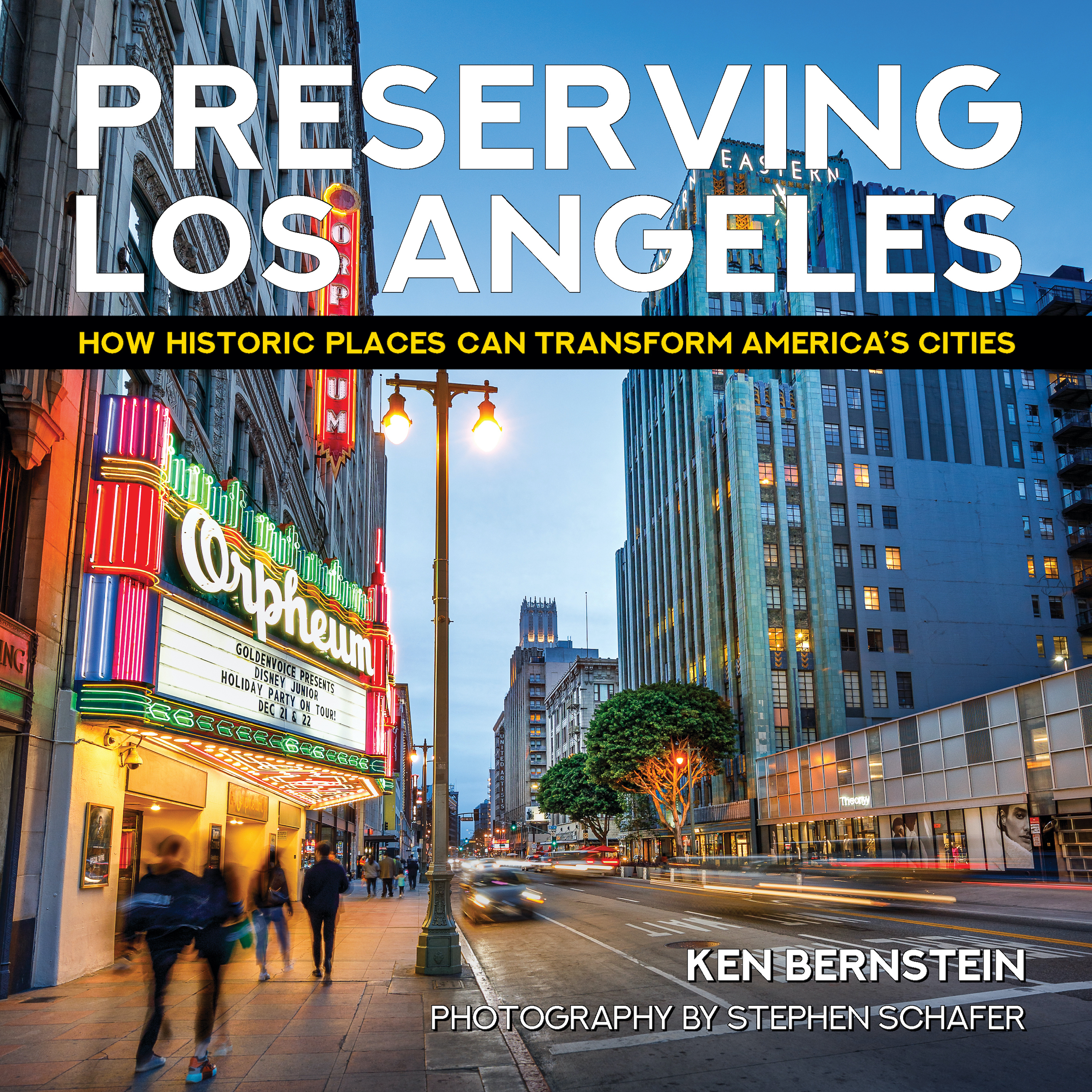 Preserving Los Angeles Book Cover