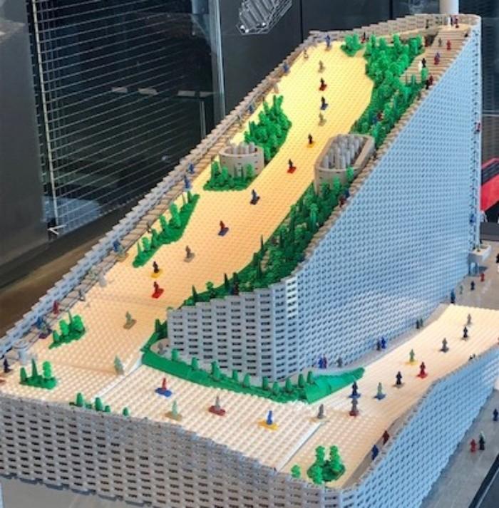 Amager Bakke Lego Rendering