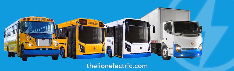 Lion Electric Heavy-Duty Trucks & Buses